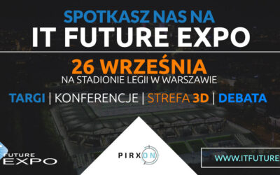 Pirxon na IT Future Expo 26.09.2019