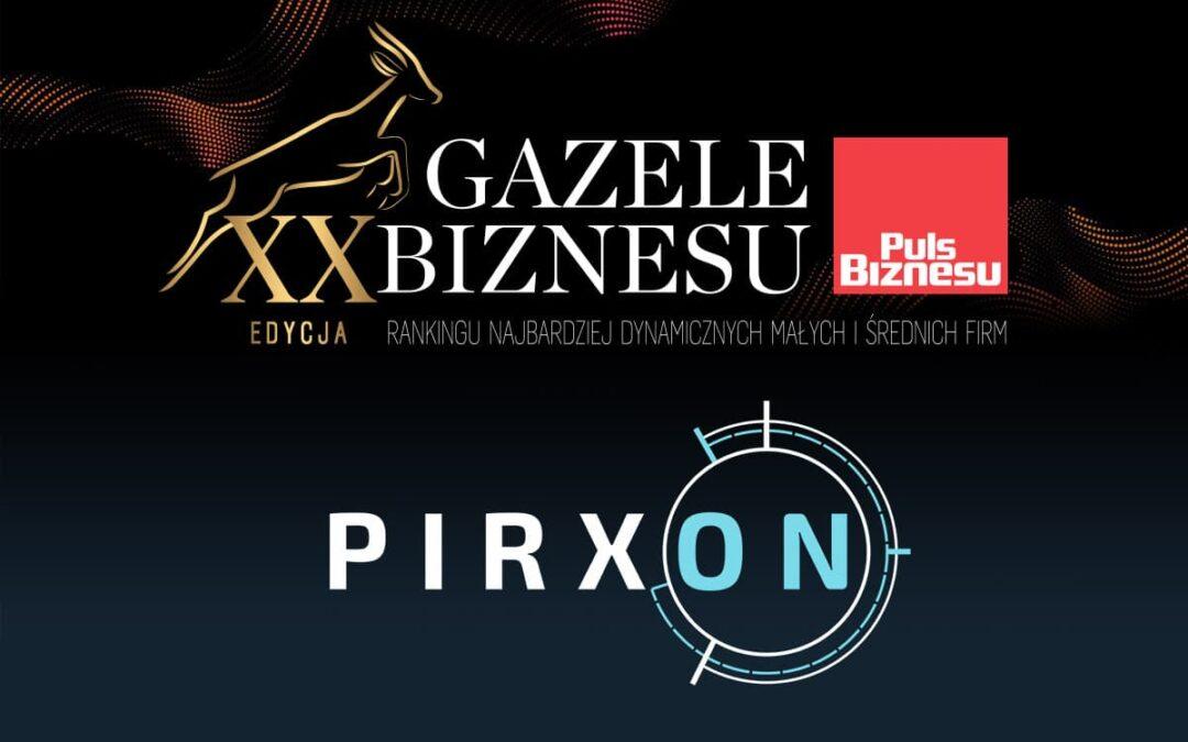 PIRXON SA wchodzi w 2020 rok jako Gazela Biznesu