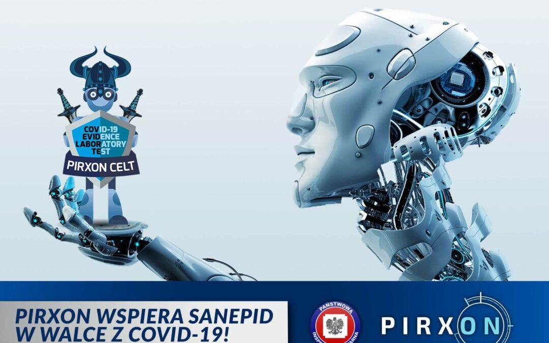 Pirxon wspiera sanepid w walce z COVID-19!