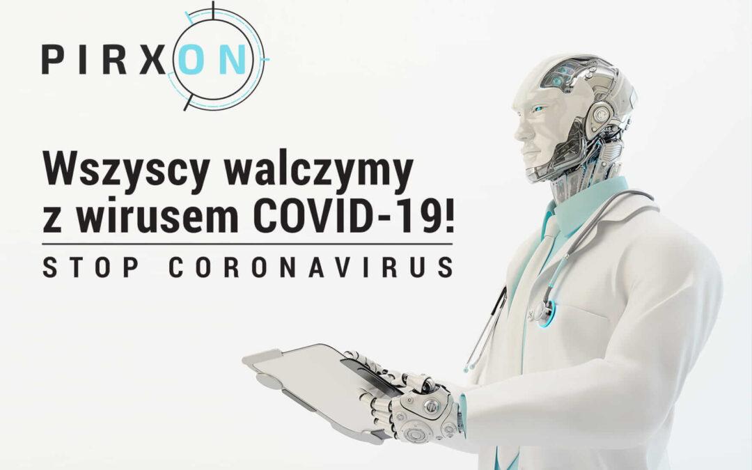Stop Coronavirus – Wszyscy walczymy z wirusem COVID-19